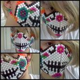 Sugarskull Kandi Mask