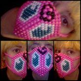 Jigglypuff Kandi Mask