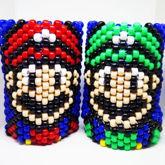 Mario And Luigi Kandi Cuff Bracelets