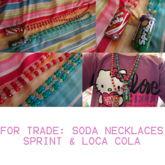 Soda Necklaces
