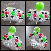Lime Lollipop Kandi Cuff
