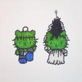 Frankenstein And Bride Of Frankenstein Hello Kitty