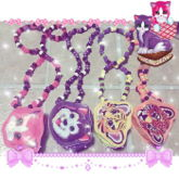 Lisa Frank Bag Necklaces