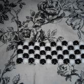 Checkered Square Stitch Cuff