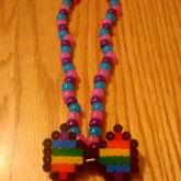 Bisexual Pride Choker