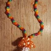 Mushroom Necklace :)