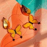 Aretes Mariposa Macondo