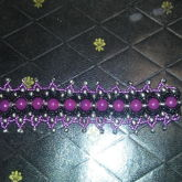 Purple Lotus Bracelet