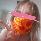 Applejack Kandi Mask
