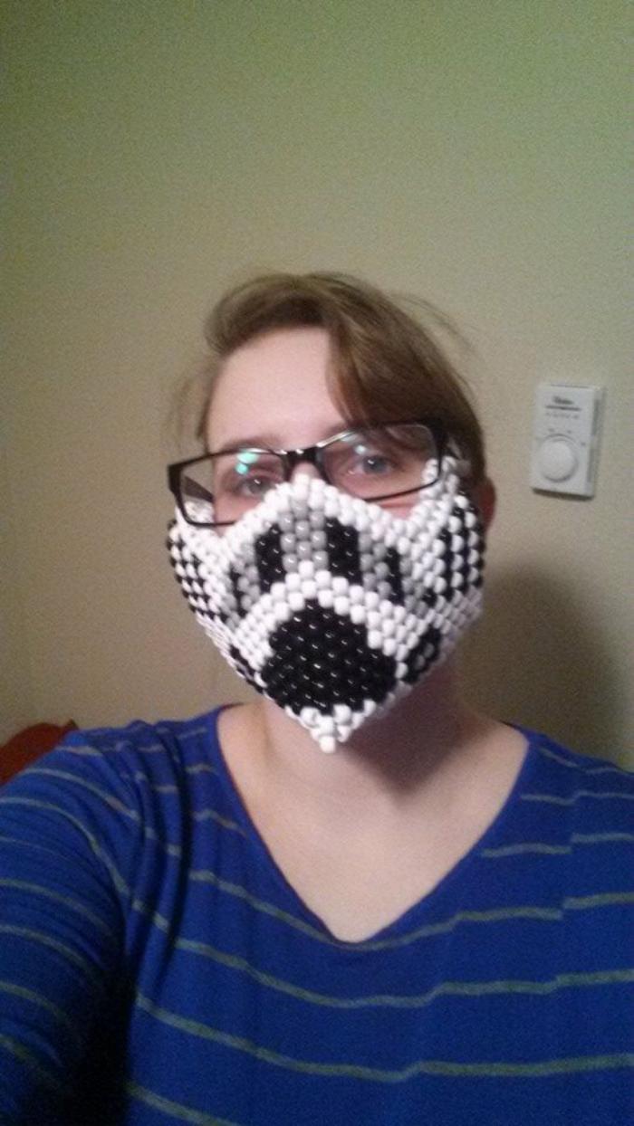 Storm Trooper Perler Bead Pattern