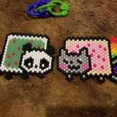 Nyan Cat And Nyan Panda