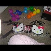 Pants Chain And Hello Kitty Bra