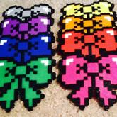 Rainbow Bows :3