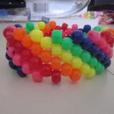 Rainbow Diagonal Cuff