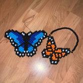 Butterfly Wall Hangers- Peyote Stitch