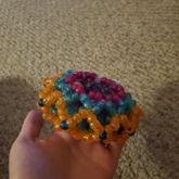 Mini Glitter 3D Cuff