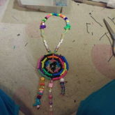 Mini Dream Catcher Necklace
