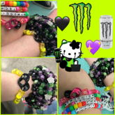 Monster Tab Friendship Bracelets
