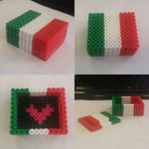 Italian Flag Box