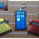 Tardis & Daleks