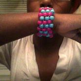3rd Cuff I Made >.<