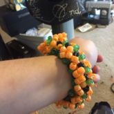 Pumpkin Cuff Back