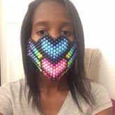 Rainbow Pride Mask