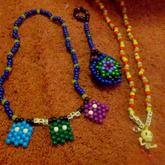 Necklaces 2 And 3D Star Thing