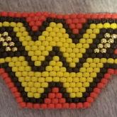 Wonder Woman Logo Kandi Peyote