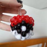 3D Pokeball Keychain