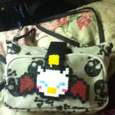 Moogle Pin On My Purse