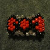 Red Bow Cuff