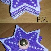 Sterntruhe Hama Beads 3d