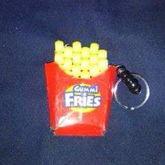 Fries Keychain