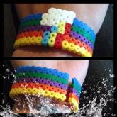 Rainbow Dash Bracelet