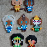 Avatar The Last Airbender Perlers