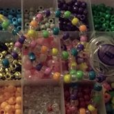 Rainbow Binky Necklace