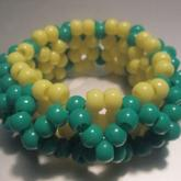 Green N' Yellow 3D Cuff