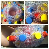 Clear Foam Double Cage Cuff