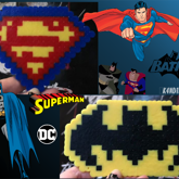Superman + Batman Perlers
