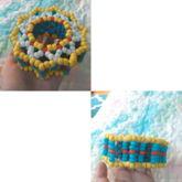Colorful Carousel Cuff :D