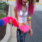 Kandi Kat On Her Way To Moonrise