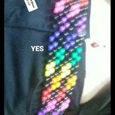 Rainbow Belt Kandi