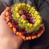 Carnival Candy Cage Cuff