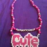 Cutie Pie Necklace :)