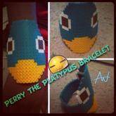 Perry Perler Bead Bracelet