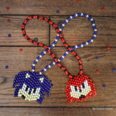 Sonic And Knuckles Necklaces