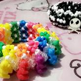 Rainbow Bear 3D And B&W Jack Skellington 3D