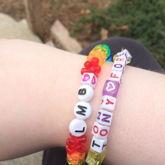 LMB Leda Monster Bunny Tribead Rainbow Single Side 1