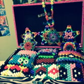 All Of My Kandi In Chest